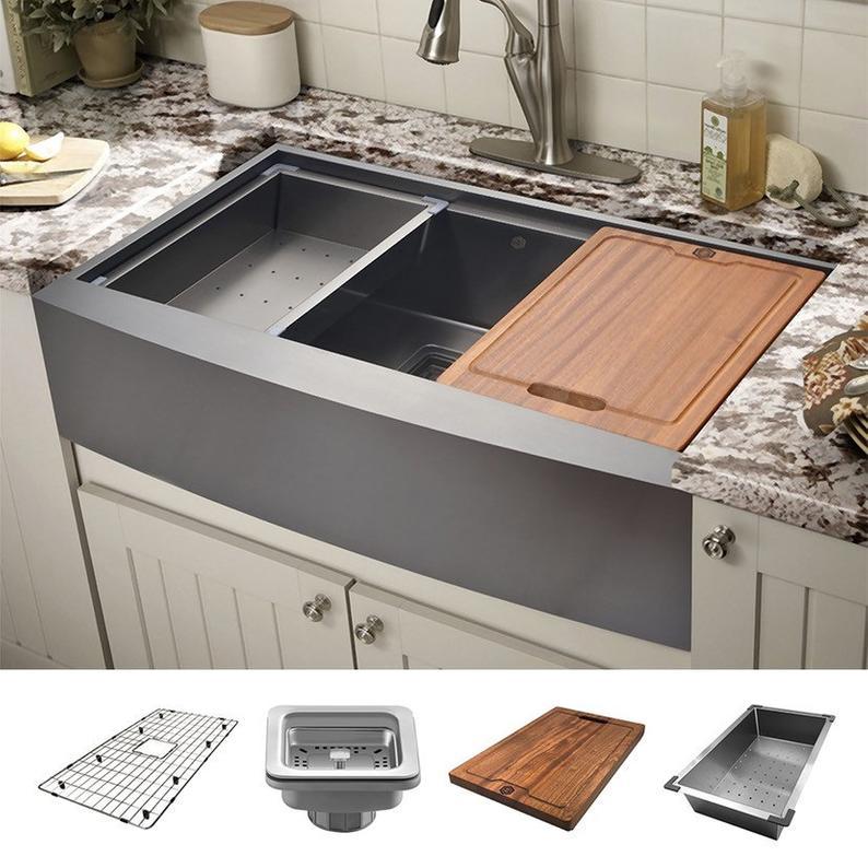 41+ 30 farmhouse kitchen sink best