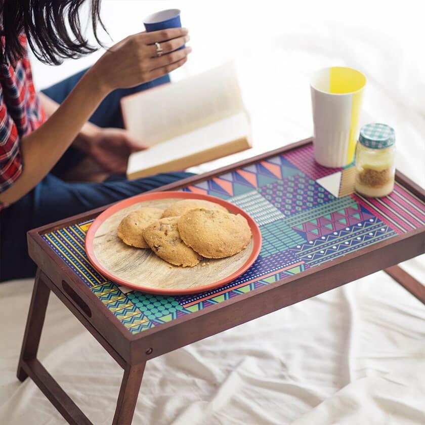 Buy Geometric Jungle Breakfast Table Online