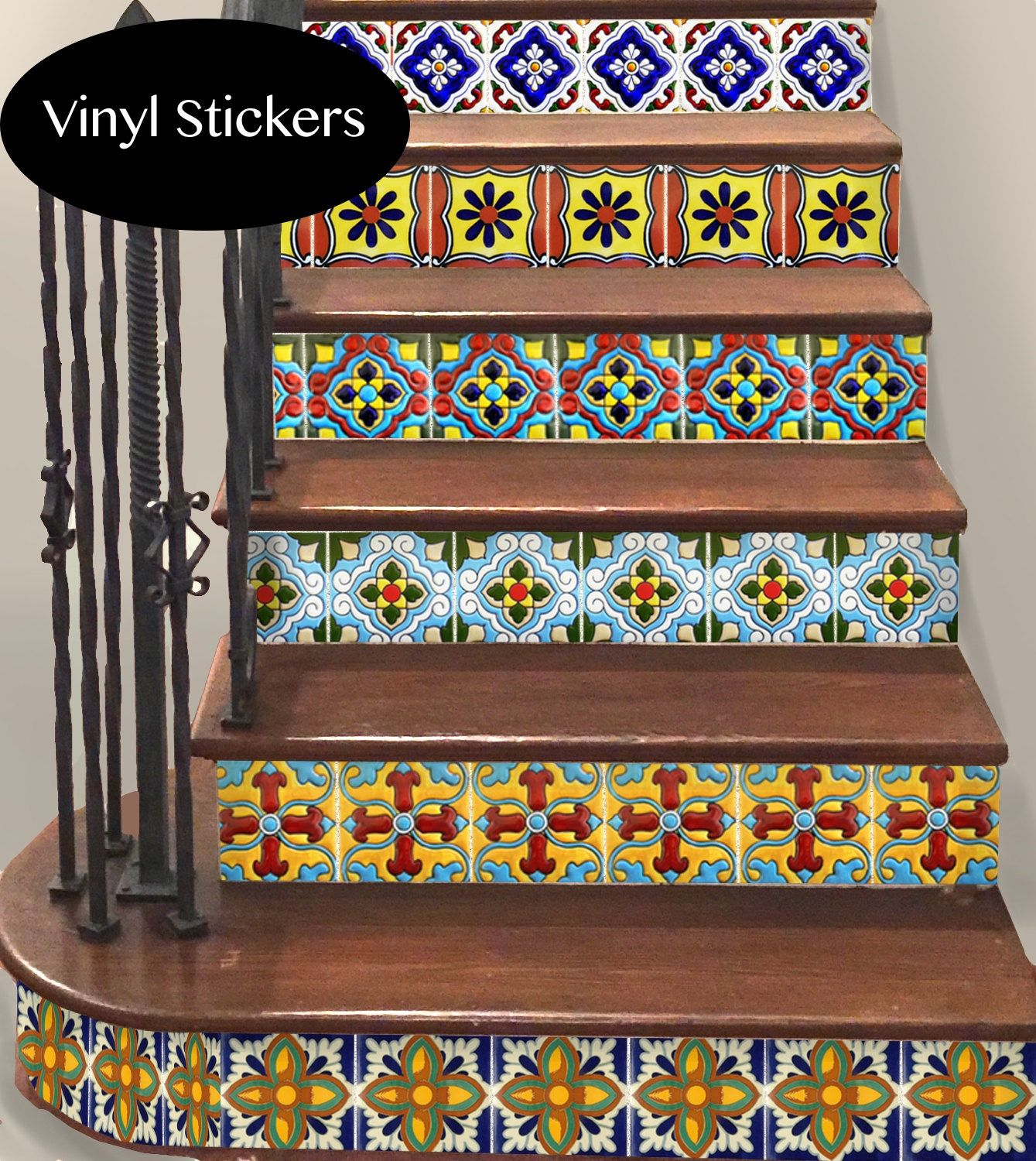 Best 15Steps Stair Riser Vinyl Strips Removable Sticker Peel 640 x 480