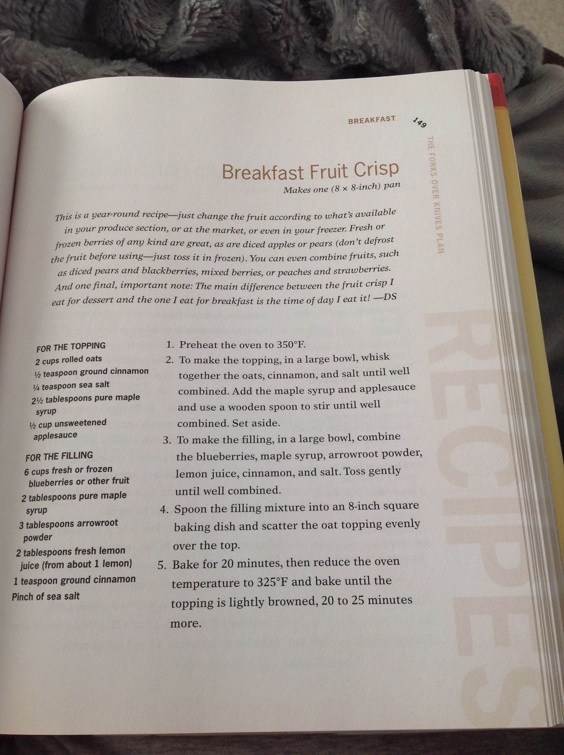 Breakfast crisp forks over knives plant based breakfast