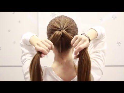 Как сделать себе косу жгут 507