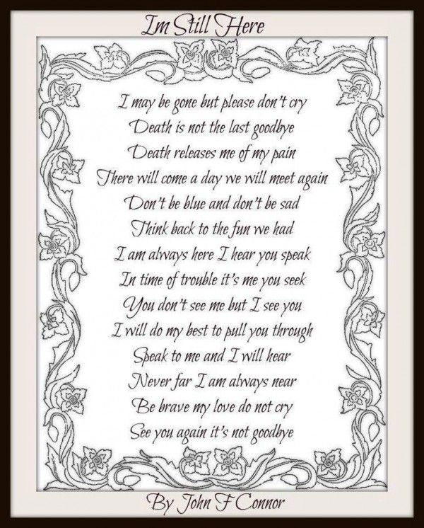 In Loving Memory Quotes My Son Cole Forever My Heart