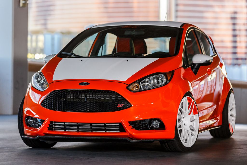 Ford Tricks Out Flock Of Fiesta Sts For Sema Ford Fiesta Ford