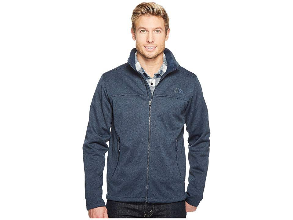 a0722e33a The North Face Apex Canyonwall Jacket (Urban Navy Heather/Urban Navy ...