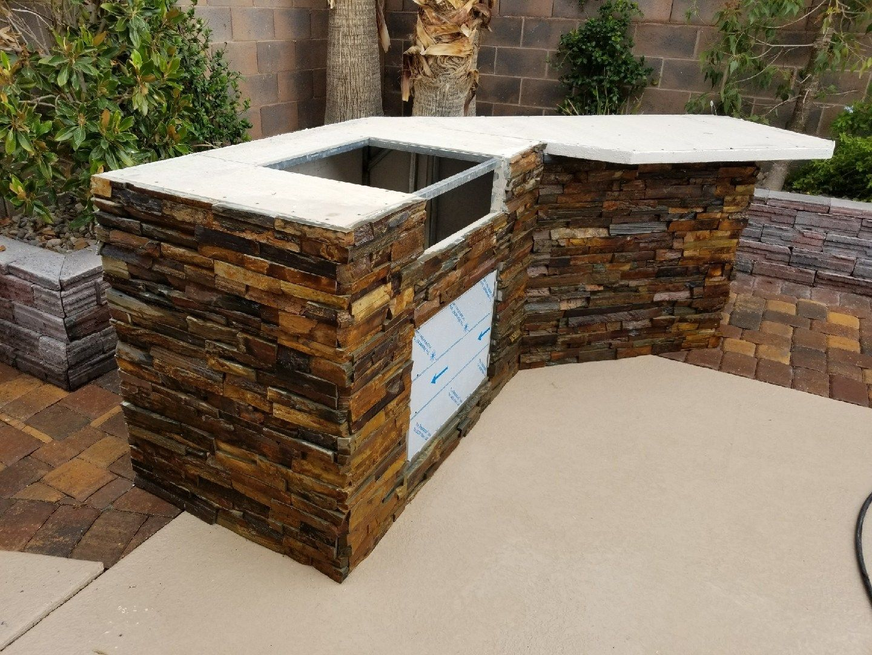 Of Las Vegas Nevada Build Outdoor Kitchen Outdoor Kitchen Design Modern Outdoor Kitchen