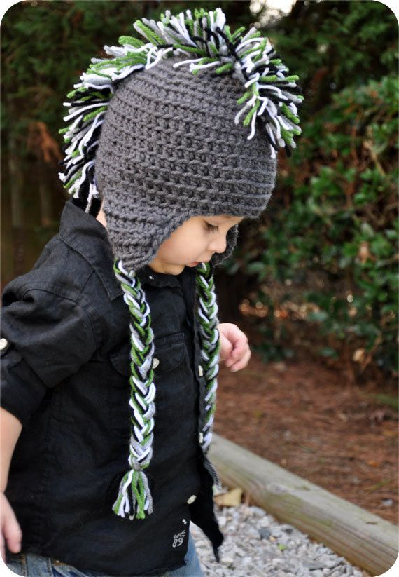 mohawk hat- Pretty sure I\'m gonna have to have 2 - One for the ...