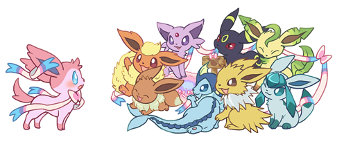 Eeveelutions Sylveon Wallpaper