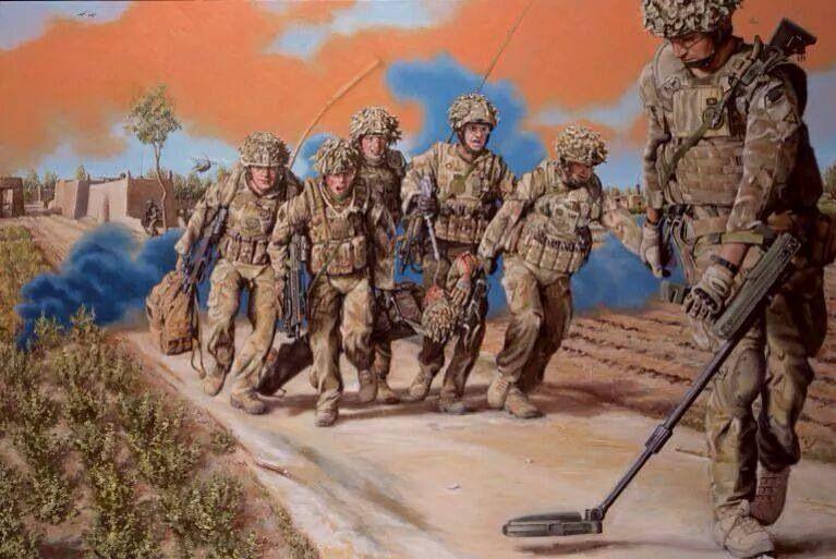 Combat Engineer Military Engineering Military Art Afghanistan War