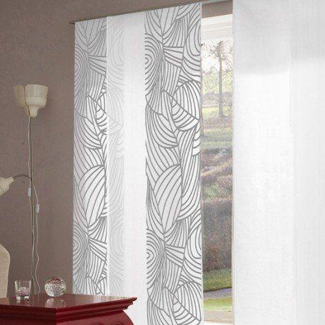 panneau japonais feuillage blanc x cm panneaux japonais pinterest panneau. Black Bedroom Furniture Sets. Home Design Ideas