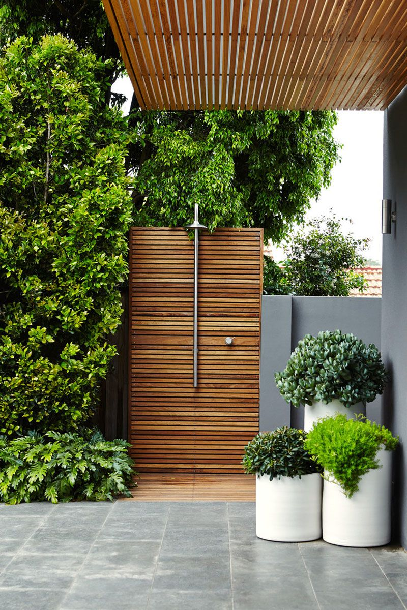 frontgate outdoor shower