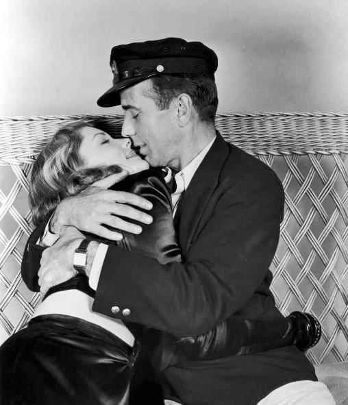 BOGART AND HIS WIFE