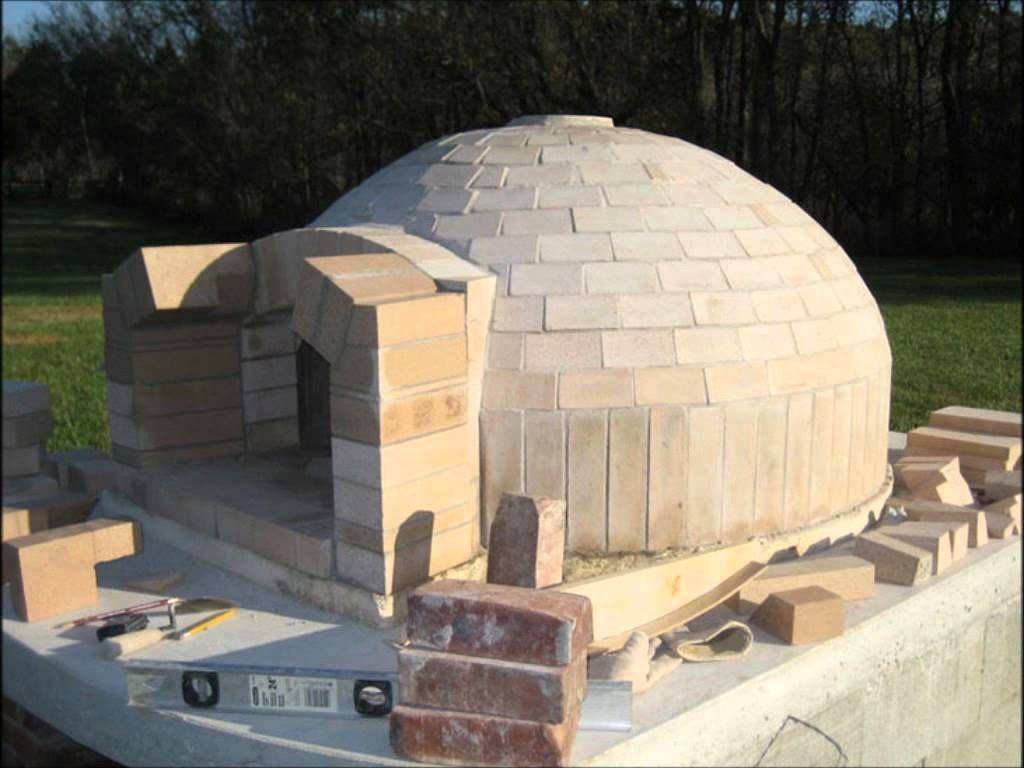 Pompeii italian brick pizza oven construction youtube - Chimeneas de barro ...