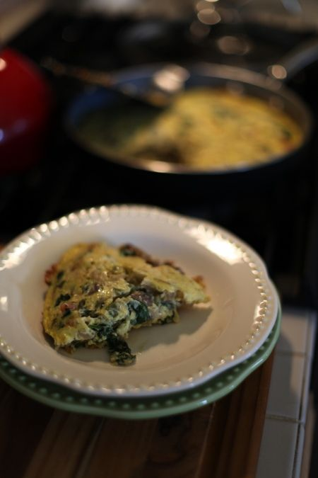 in honor of Sunday mornings everywhere: the Sunday Morning Clean it All Out Frittata