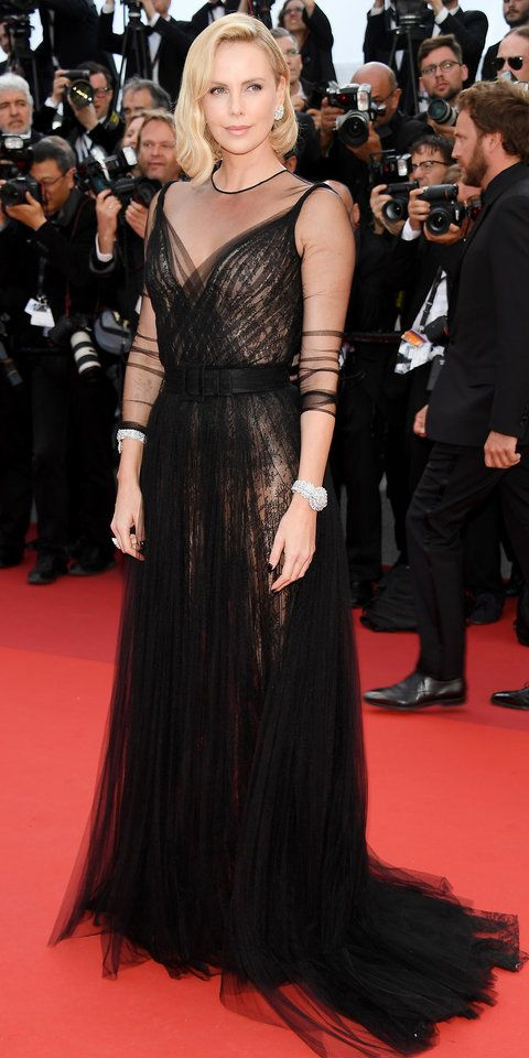 Celebrities Hit The  Cannes Film Festival Red Carpet Instyle Com