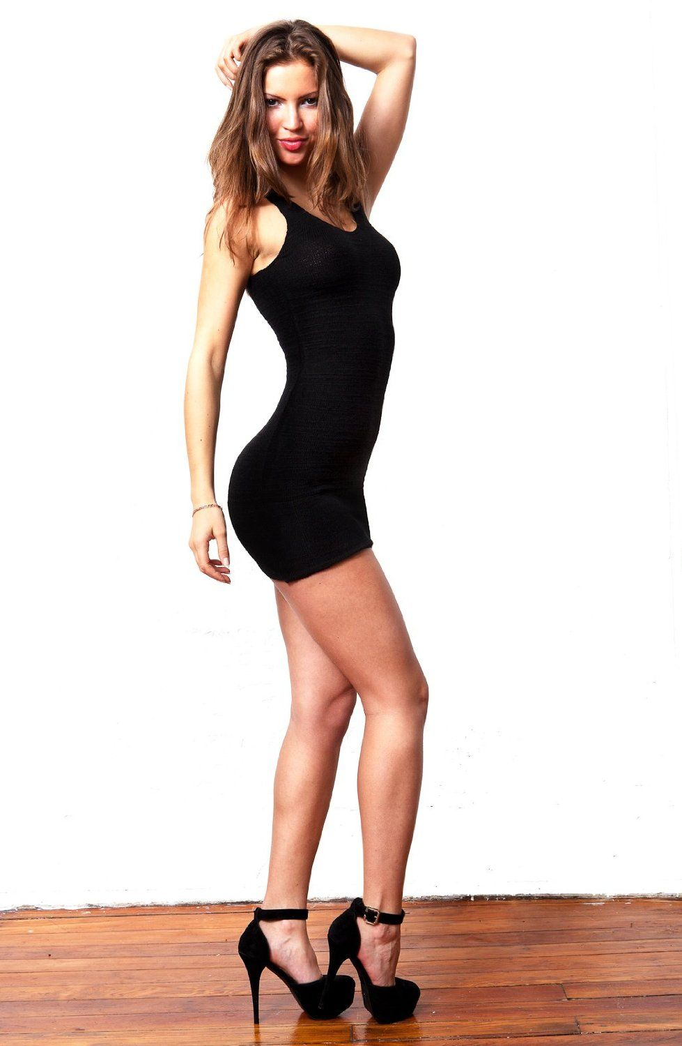 Little Black Sleeveless Mini Dress by KD dance, Sexy, Seductive ...