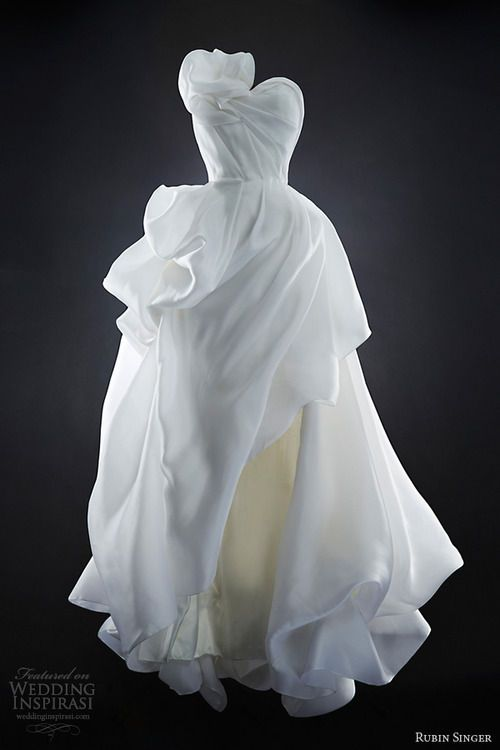 Wedding dress 181 - Rubin Singer should always be in charge of the dress.