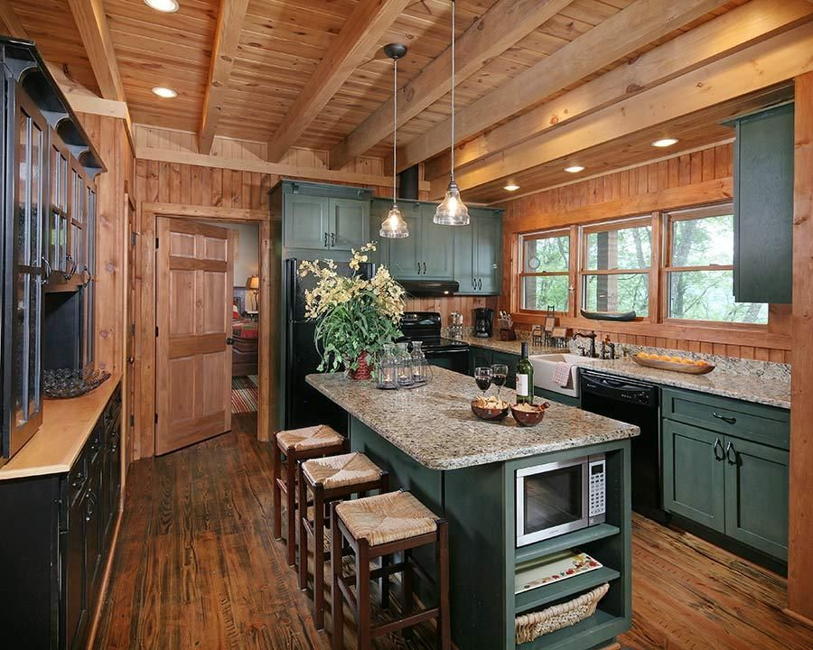 Custom Wood Homes Presented By Log Home Living Timber Home Living And Country S Best Cabins Log Home Kitchens Log Home Interiors Log Cabin Kitchens
