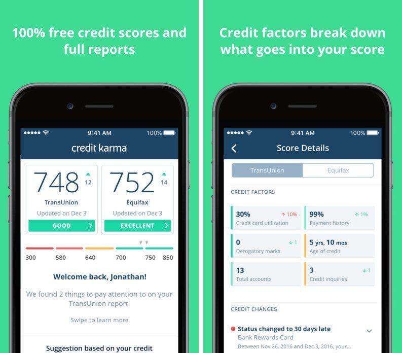 Credit karma free credit score karma free credit score