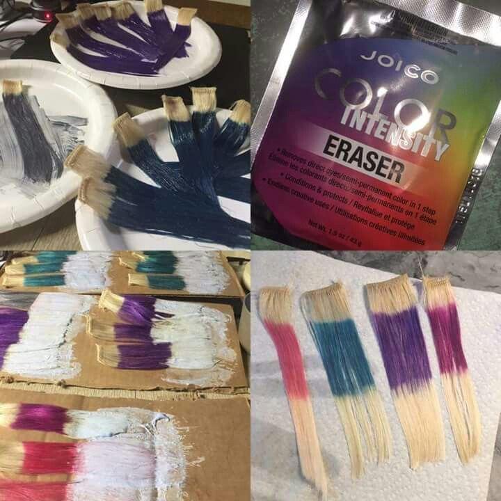 Joico Color Intensity Eraser Hair Colouring Pinterest Joico
