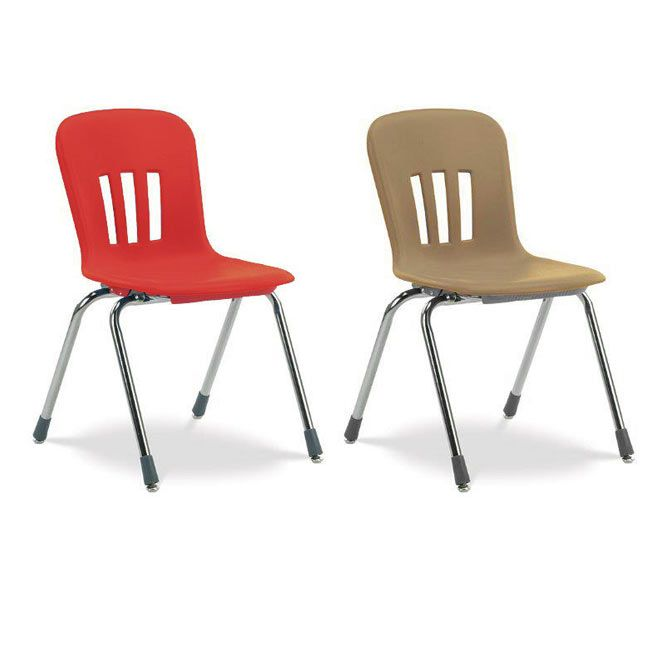 Overstock Sale With Free Shipping On These Red And Adobe Colored Metaphor Stack  Chairs By Virco!