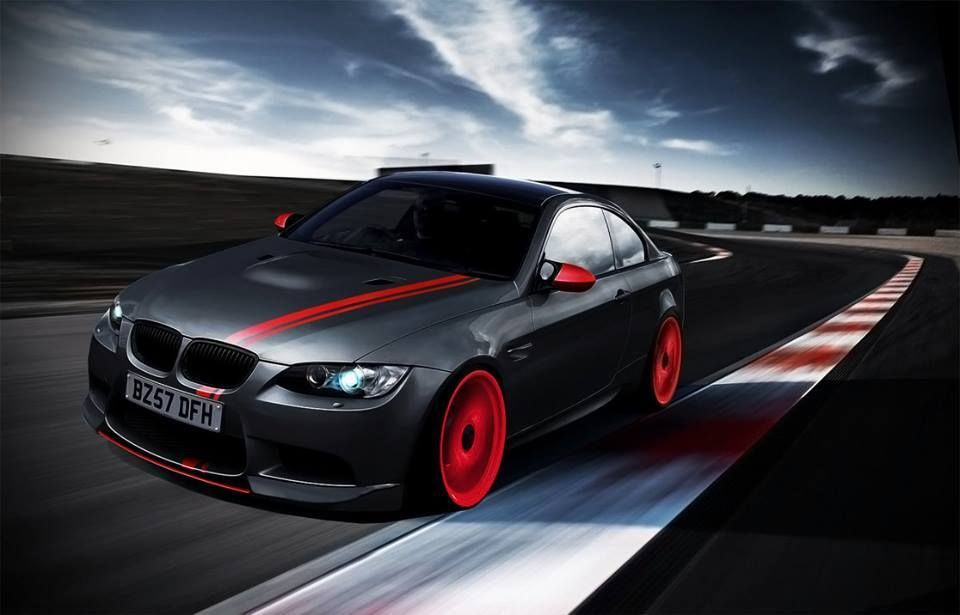 Black And Red Bmw M3 Bmw Wallpapers Bmw Bmw Classic Cars