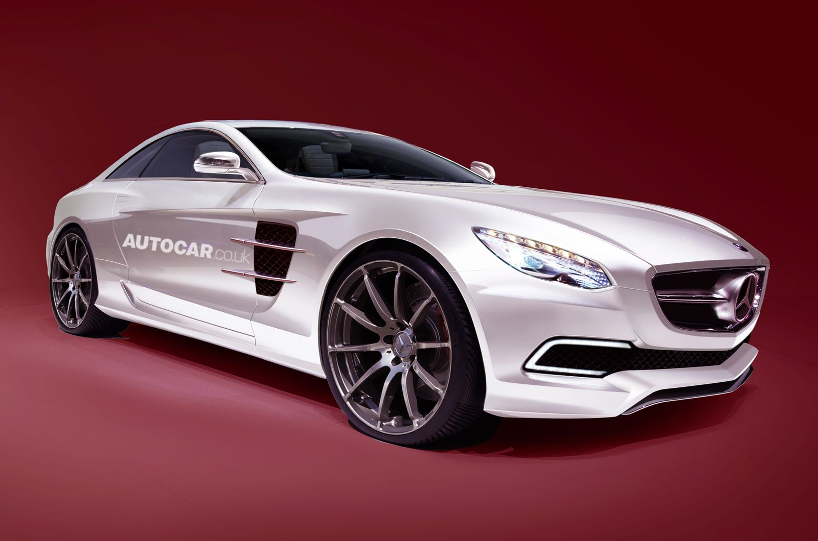 Mercedes Benz Baby SLS....  I want one...