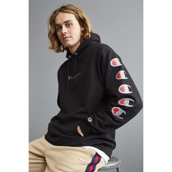 Champion Repeat Eco Hoodie Sweatshirt | Hoodies, Sweatshirts