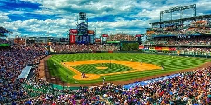 Coors Field, Denver, Colorado, USA