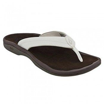 Olukai Ohana Womens Flip Flops - 20110-4040-Black_Black-strap