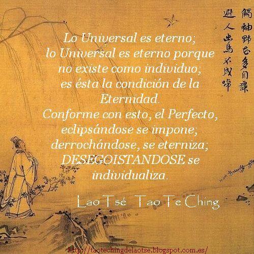 Tao Te Ching Frases Y Citas Del Tao Te Ching De Lao Tsé