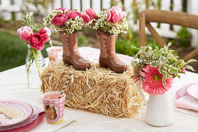 Centros De Mesa In 2019 Cowgirl Party Supplies Cowgirl