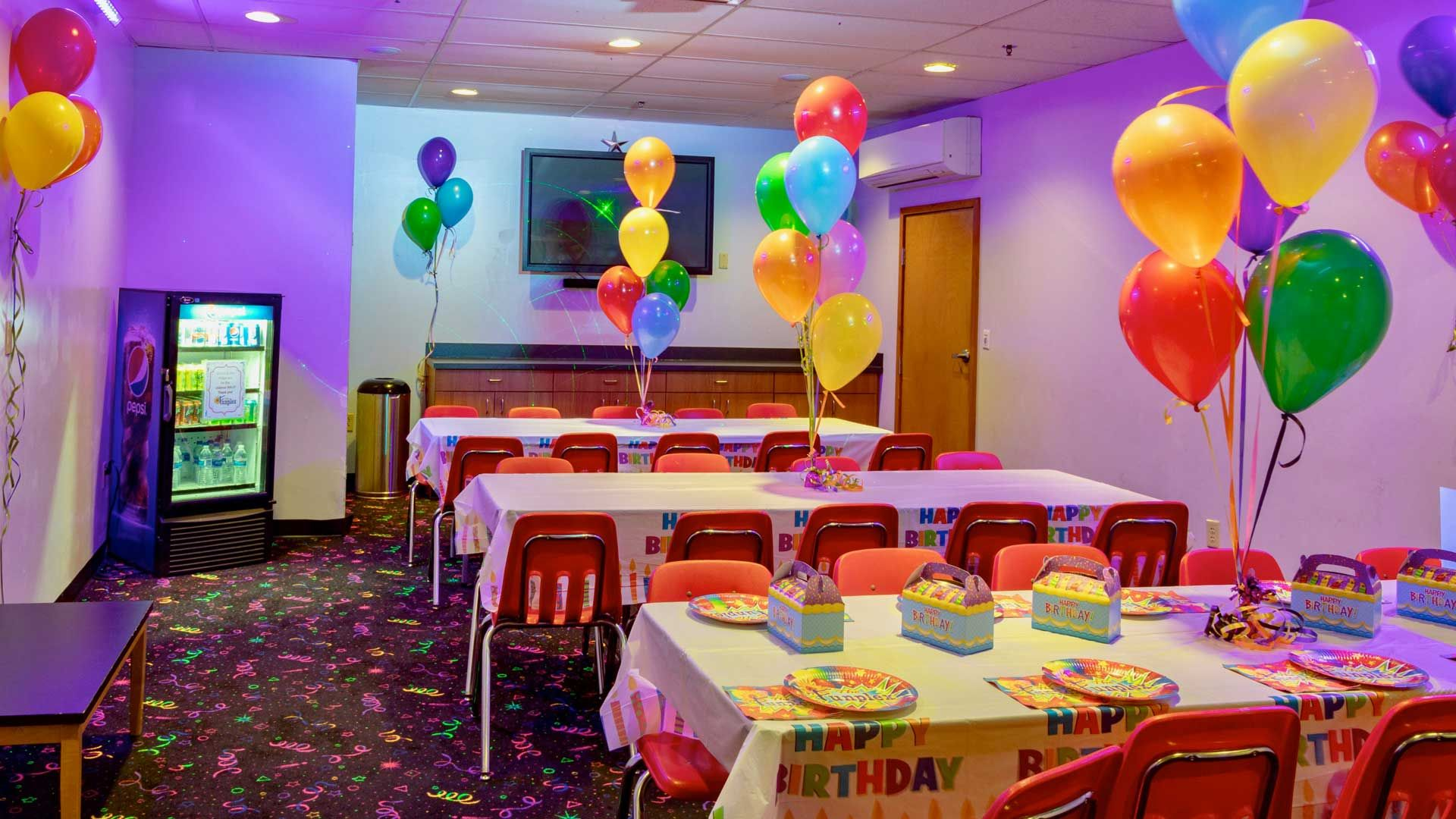 Birthday Party Venues Near Me