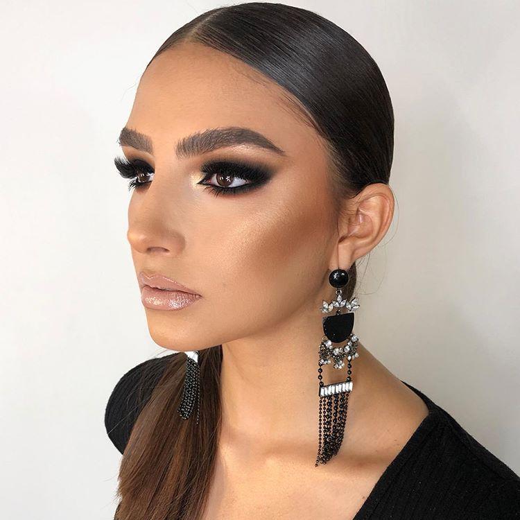 Edgar Maytorena en Instagram: «2do look🔥🔥 #darkeyes #makeup #workshop»  – Maquillaje