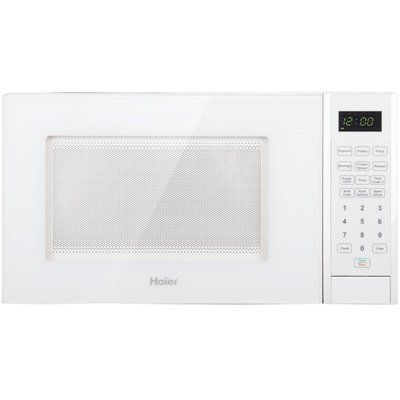 Haier 0 9 Cu Ft 900w Countertop Microwave Color White