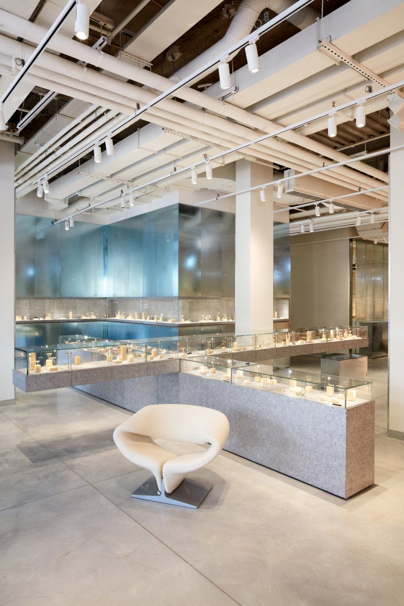 Bjarke Ingels Group Designs New Flagship Store For Galeries Lafayette In 2020 Retail Fixtures Architectural Materials Galeries Lafayette