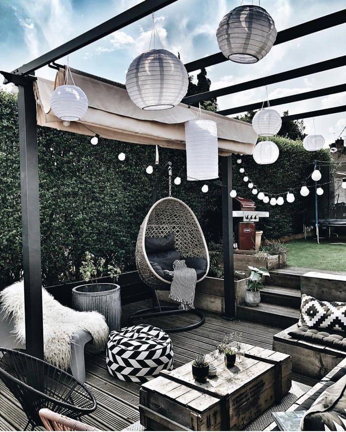 38 wonderful garden deck ideas with best decking designs 24