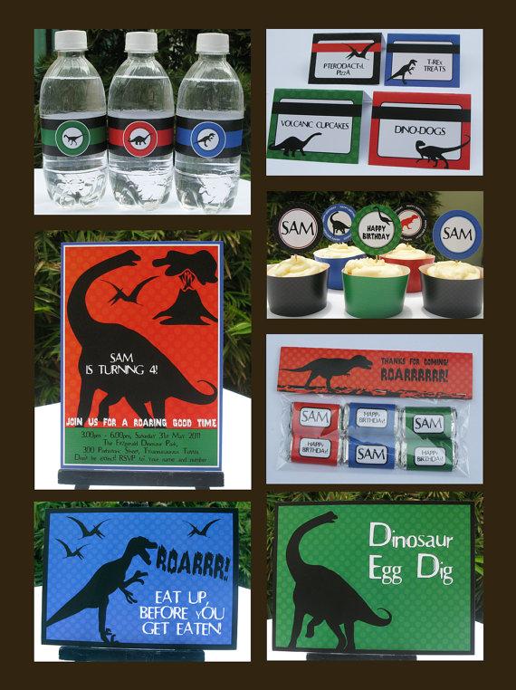 Dinosaur Party Printables