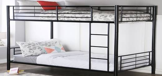 Walker Edison Twin Over Twin Bunk Bed Business Pinterest Bed