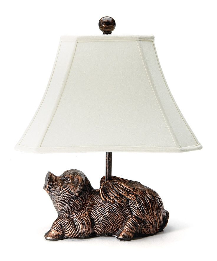 When Pigs Fly Whimsical Table Lamp Item Hilarious Statue Of