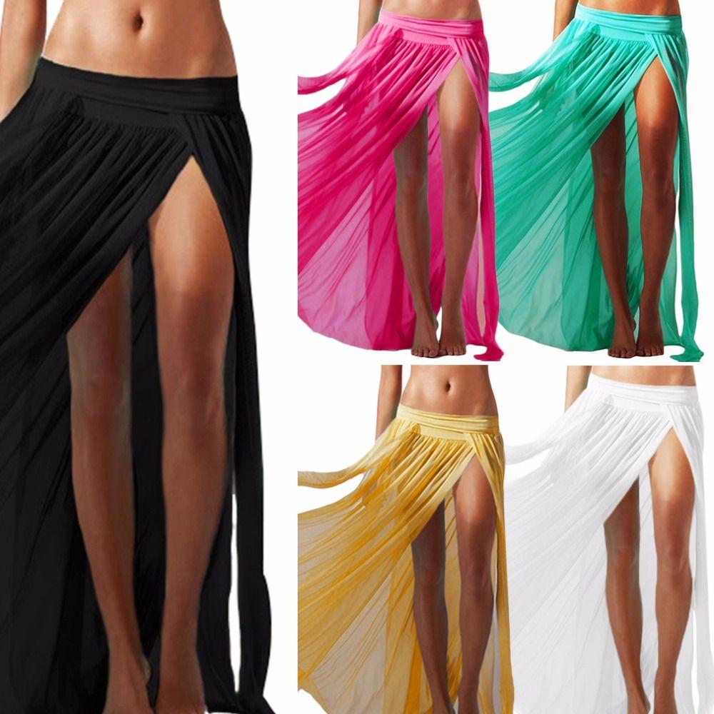 Pink Ladies Sarong Beach dress Cover up Kaftan Summer Wear Swim Bikini Scarf