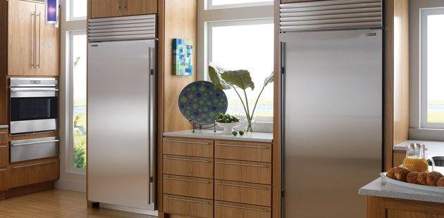 Refrigerator And A Separate Freezer