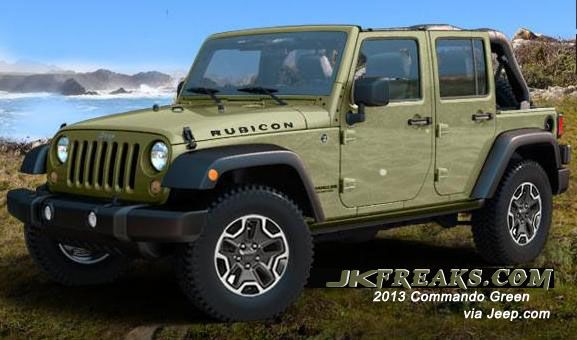 It s about time jeep brought back od green Jeep