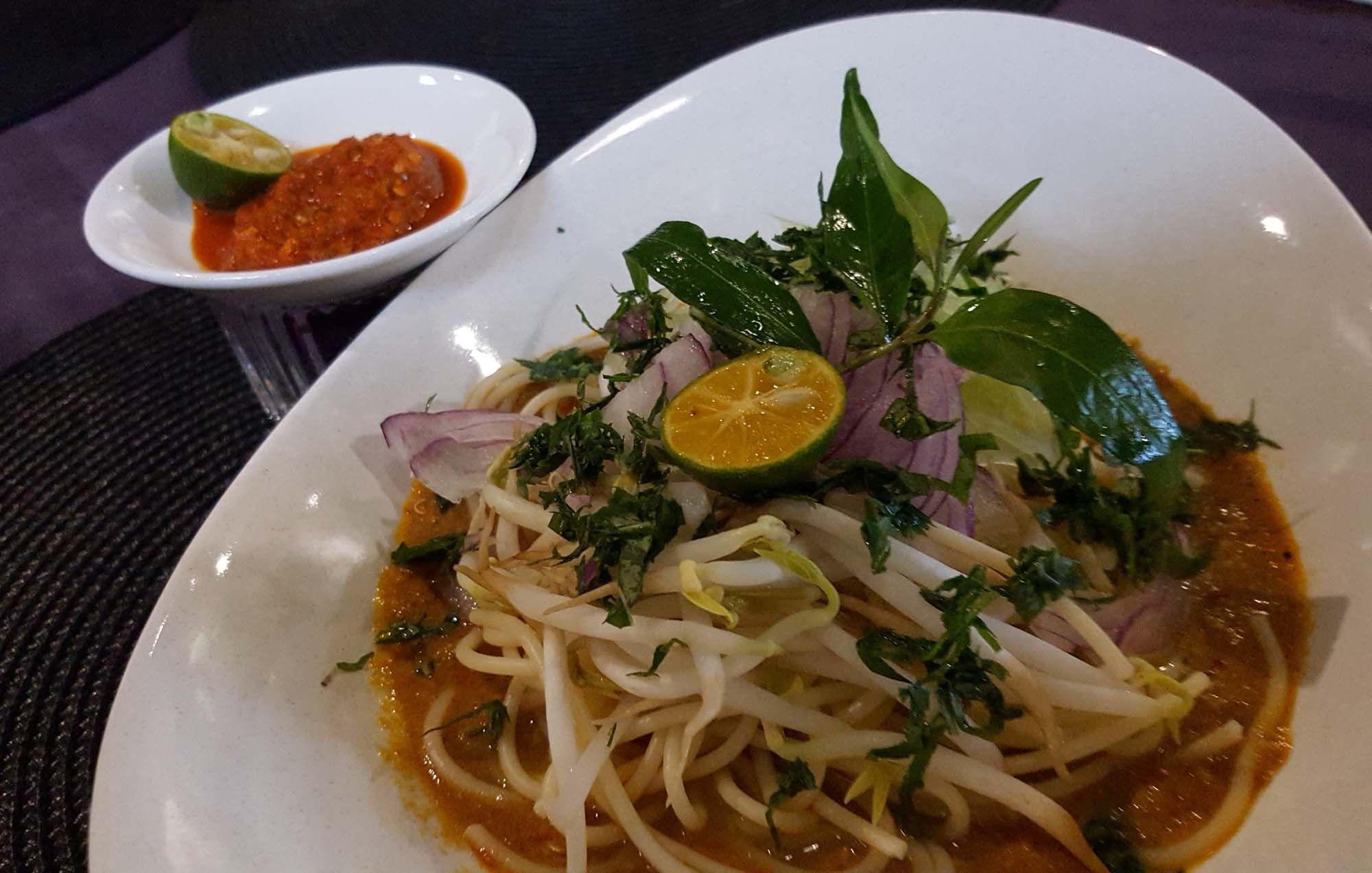 Kesum Art Restaurant 57 Stewart Lane George Town Smart Dory Travel And Food Blog Laksa Food Malay Food