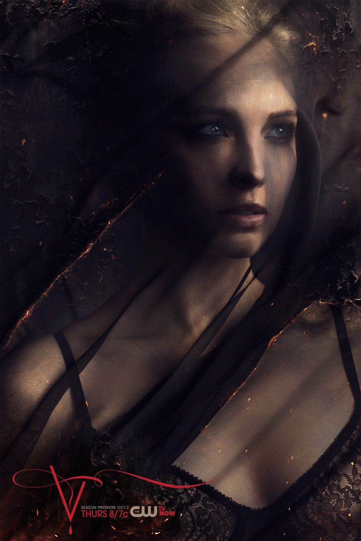 Candice Accola As Caroline Vampire Diaries Season 5 Vampire Diaries Seasons Vampire Diaries