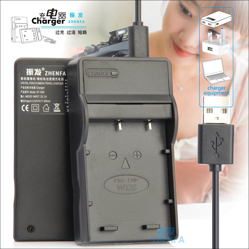 Click To Buy Zhenfa Np W126 Bc Usb Battery Charger For Fuji