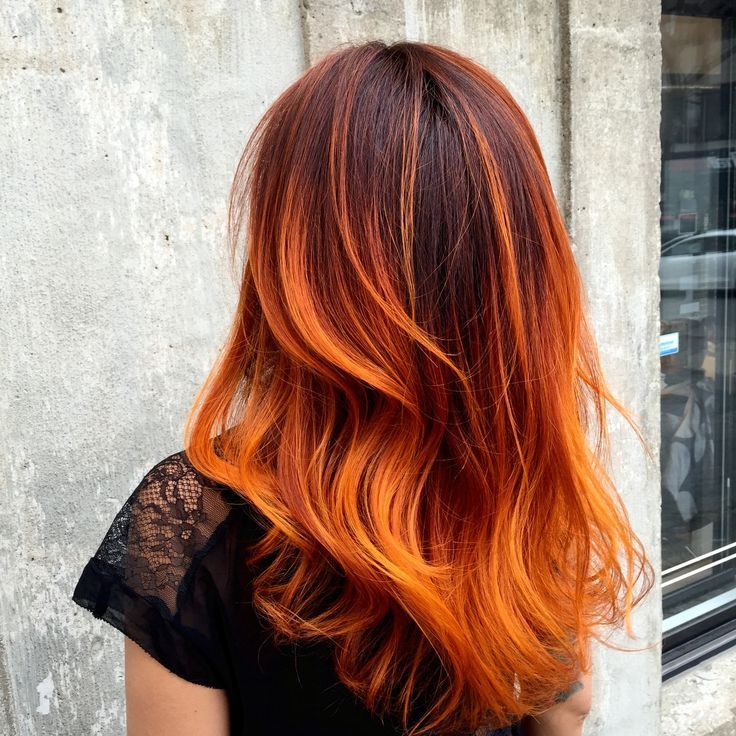 Hair By Yanick Chartrand Kravitz Olab Montreal Canada Dream Cheveux Cheveux Tres Colores Et Cheveux Oranges