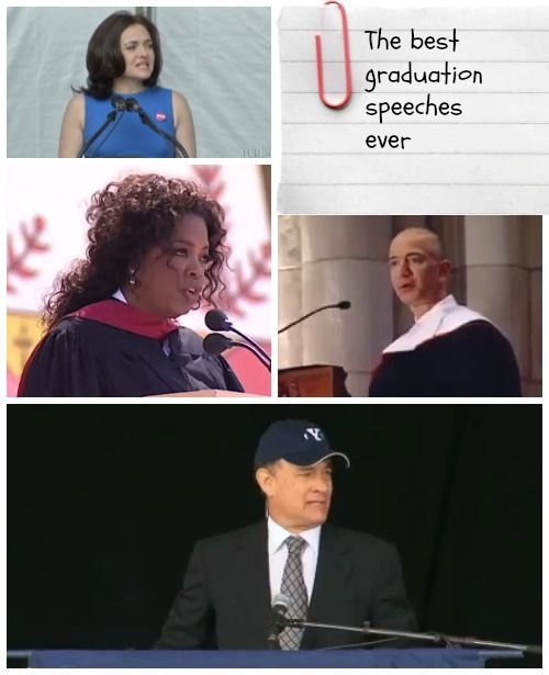 15 Of The Best Graduation Speeches Ever