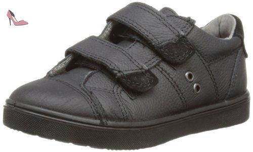 Ricosta Don, Sneakers Basses Garçon, Noir - Black (Black 090), 39