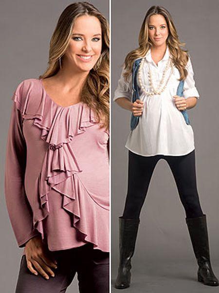 235587fae Looks muito legais da moda gestante que valorizam a barriga de grávida