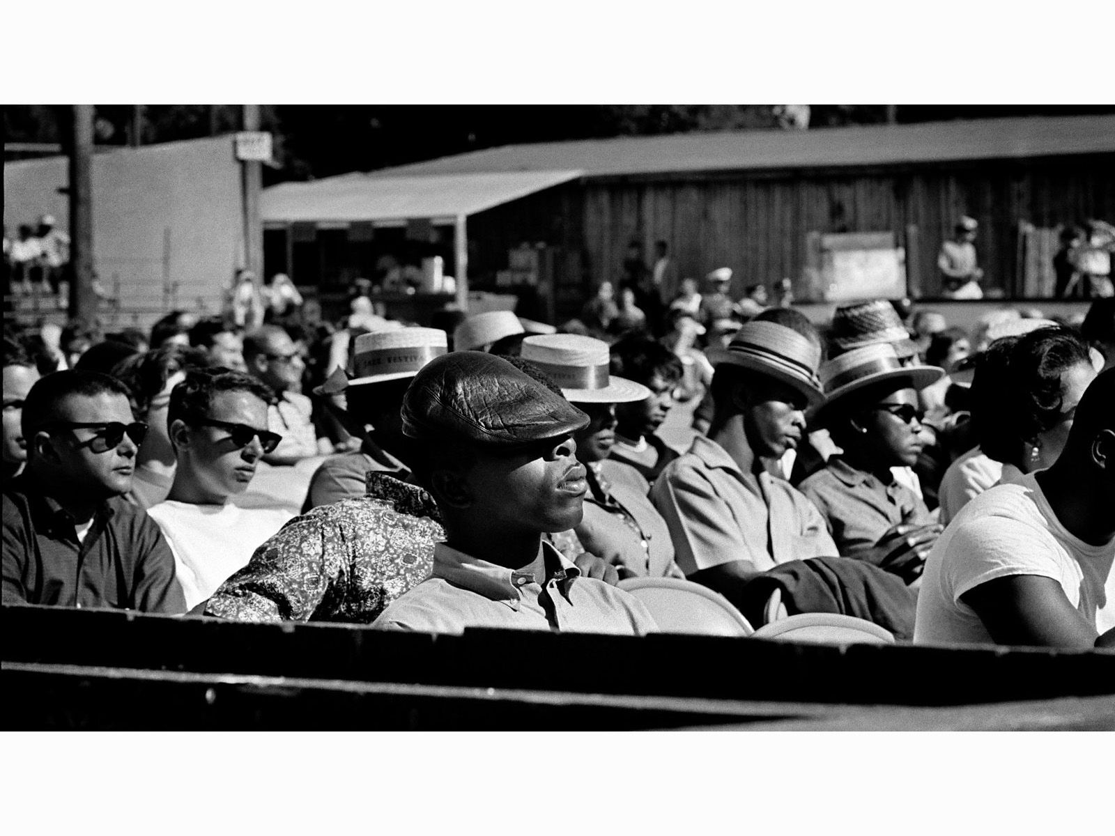 The Audience At The Monterey Jazz Festival 1960 C Jim Marshall Jazz Festival Jim Marshall Miles Davis